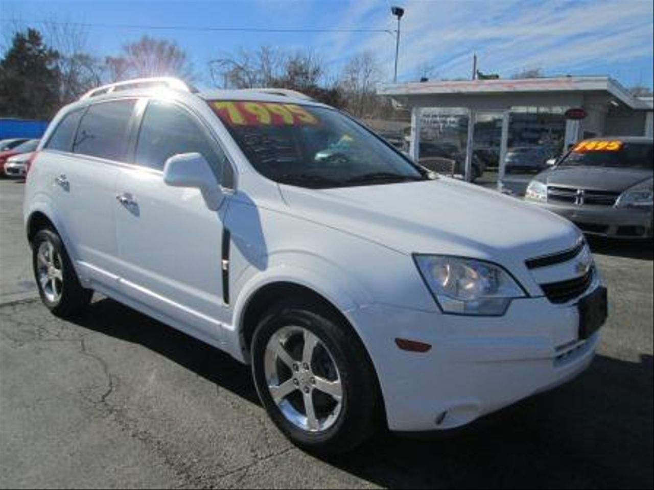 All Chevy chevy captiva gas mileage : MJS Car Sales - 2013 CHEVROLET CAPTIVA SPORT