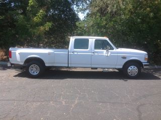 1996 FORD F350 CREW CAB LONG BED
