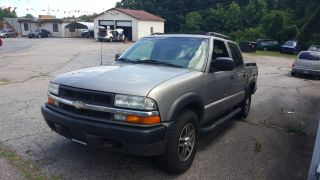 2003 CHEVROLET S10 CREW CAB LS PICKUP 4D 4 1/2 FT