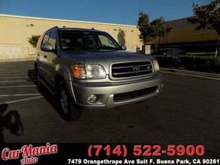 2002 TOYOTA SEQUOIA LIMITED SPORT UTILITY 4D