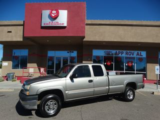 2003 CHEVROLET SILVERADO 2500 HD EXTENDED CAB PICKUP 4D 6 1/2 FT