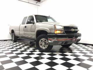 2006 CHEVROLET SILVERADO 2500 HD EXTENDED CAB WORK TRUCK PICKUP 4D 6 1/2 FT