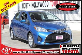 2015 TOYOTA YARIS LE HATCHBACK SEDAN 4D