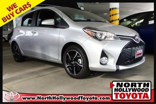 2017 TOYOTA YARIS SE HATCHBACK SEDAN 4D