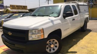 2011 CHEVROLET SILVERADO 1500 EXTENDED CAB WORK TRUCK PICKUP 4D 6 1/2 FT