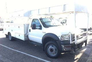 2006 FORD F-450 14FT UTILITY PICKUP TRUCK