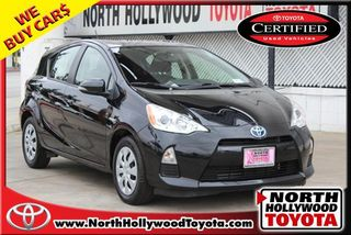 2014 TOYOTA PRIUS C TWO HATCHBACK 4D