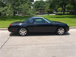 2002 FORD THUNDERBIRD CONVERTIBLE 2D