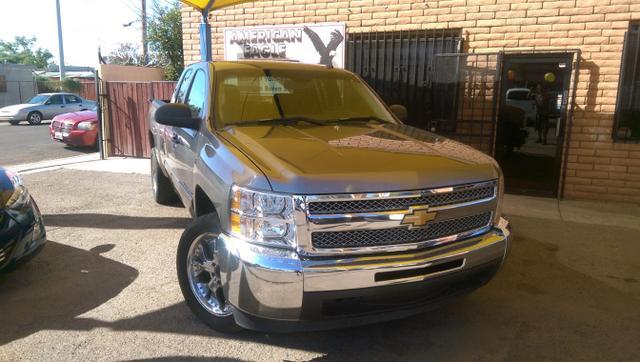 American Eagle Auto Sales - 2013 CHEVROLET SILVERADO 1500 EXTENDED