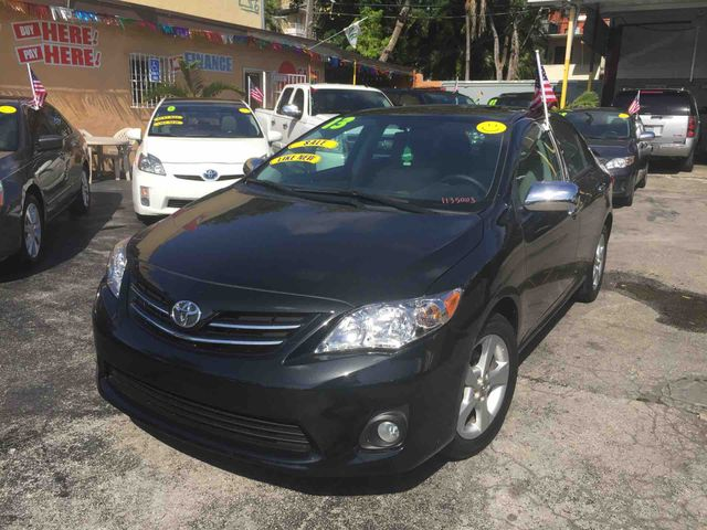 2013 Toyota Corolla L Sedan 4DMint Condition Fully Loaded New tires Non-smoker owner Seats as