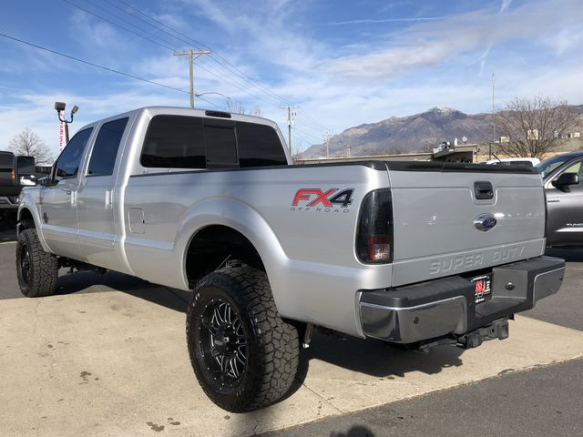 2014 Ford F-350 Lariat Pickup 4D 8 ft: Ingot Silver Metallic 64380 Miles Pickup V8, Turbo Diesel, 6.7 Liter Auto, HD 6-