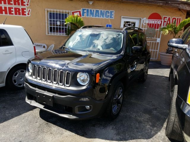 2015 Jeep Renegade Latitude Sport Utility 4DNon-smoker owner Vehicle Runs Well New tires Regul