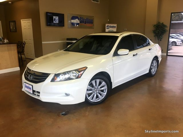 2011 Honda Accord EX-L Sedan 4DFully loaded with navigation back up camera heated powerleather