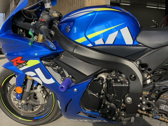2015 Suzuki GSX-R750 --: Blue 5098 Miles    SS Auto Brokers shipping