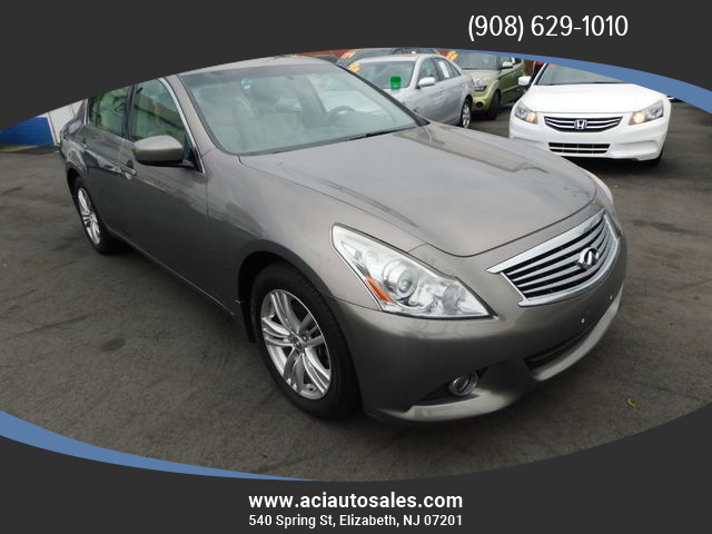 Used Infiniti G37 Sedan Elizabeth Nj